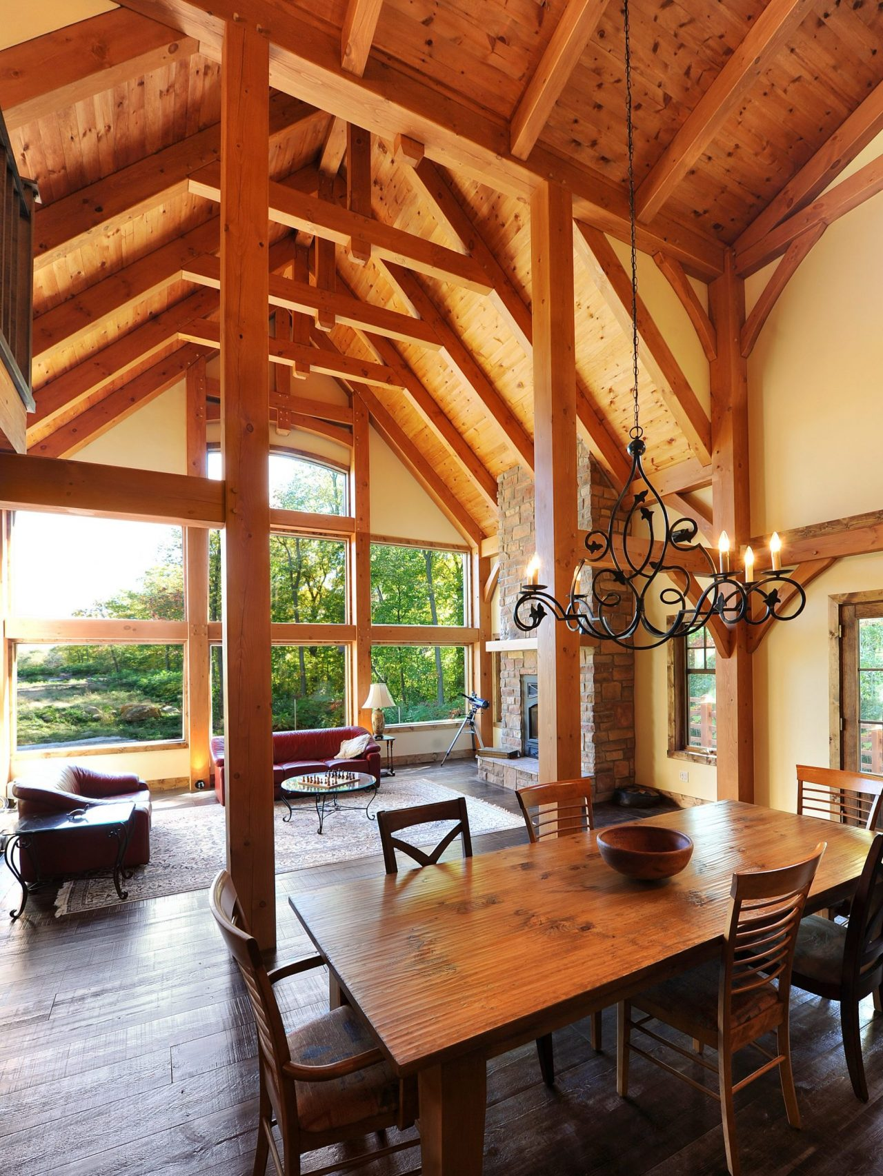 kalmia realisation classique kyo interieur general timberframe