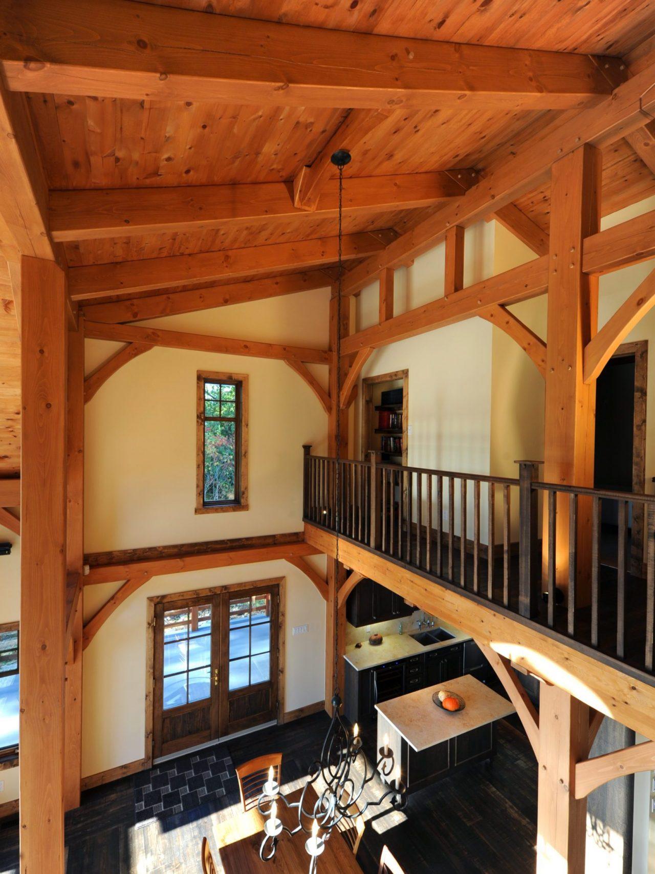 kalmia realisation classique kyo interieur timberframe