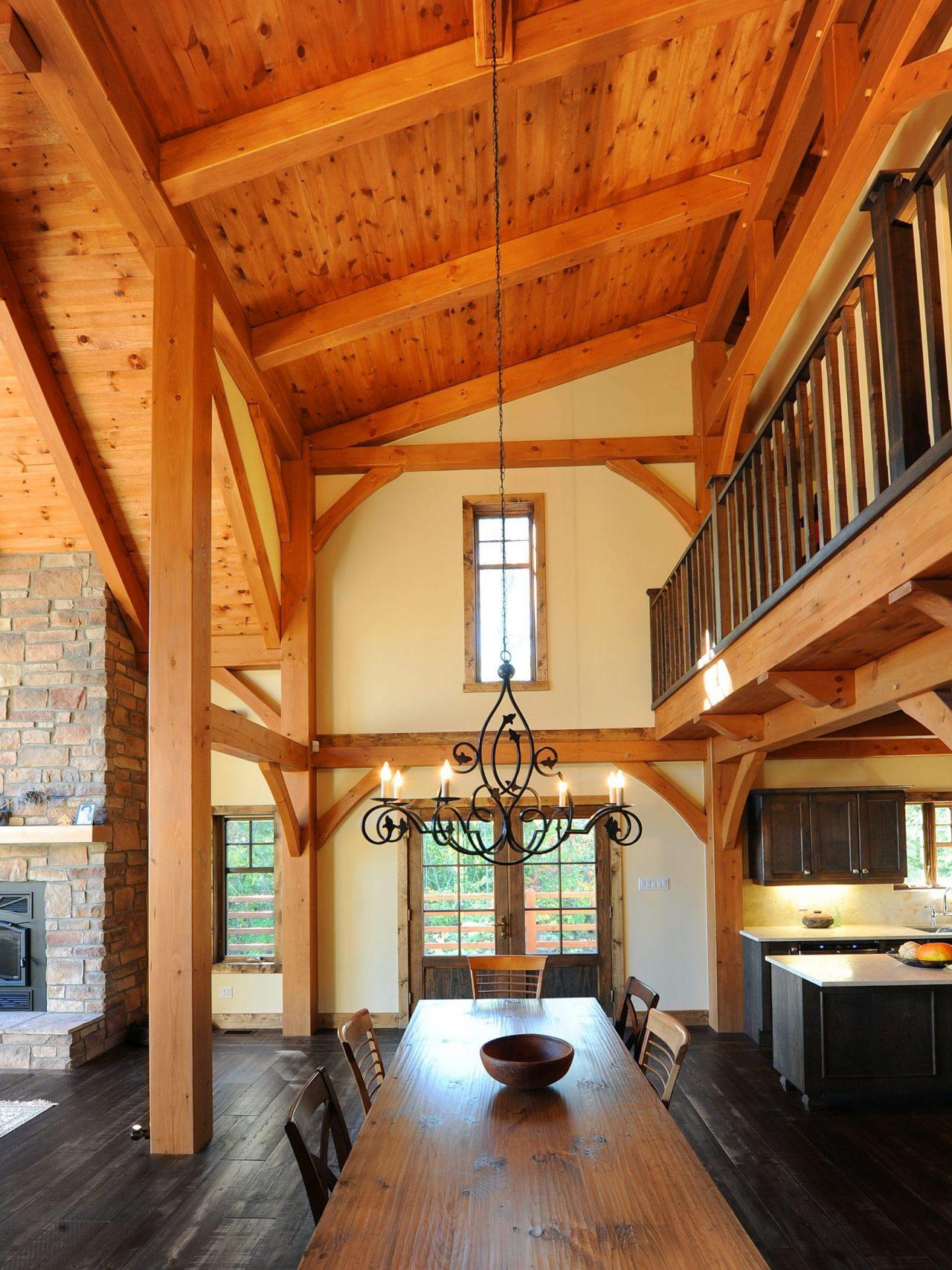 kalmia realisation classique kyo interieur timberframe 3