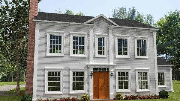 modele dunham habitation kyo facade maison 3d